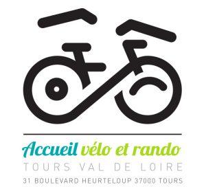 Logo de l'Accueil vélo et rando, Tours.