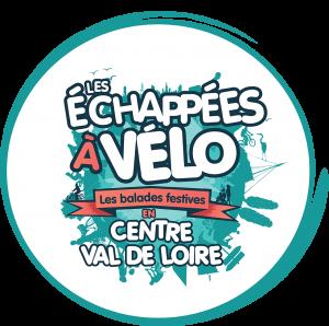 Echappếes à vélo de la région Centre-Val de Loire, logo 2018. @région Centre-Val de Loire