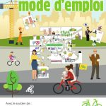 """Couverture du guide FUB """"Plan vélo, mode d'emploi"""" , 2018."""