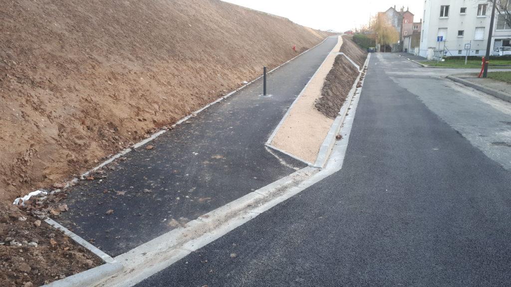 Tours : la nouvelle rampe de Rochepinard/Beaujardin.