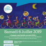 Affiche de la balade des Lucioles 2019, un évènement organisé par le Collectif Cycliste 37.