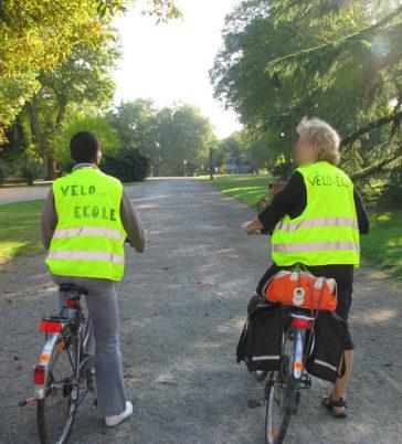 Sensibilisation aux bons comportements à vélo en ville