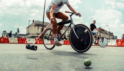Inauguration de l'activité Bike Polo à Tours !