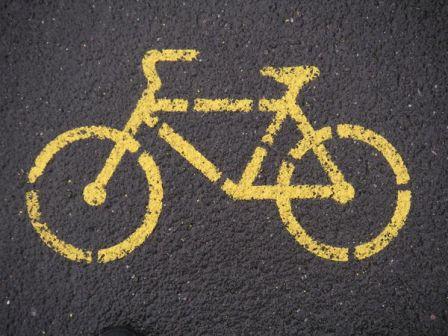 Pictogramme vélo.