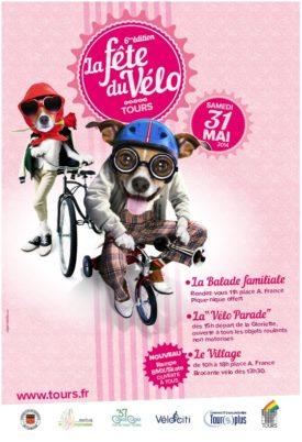 Fête du vélo, samedi 31 mai 2014, place Anatole France (Tours)