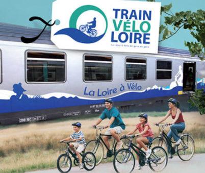 Train Vélo Loire : la Loire à Vélo de gare en gare