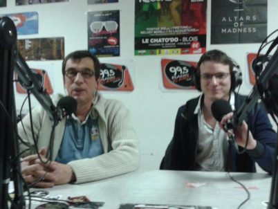 Le CC37 sur Radio Campus Tours
