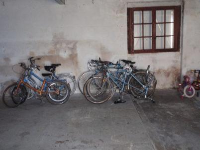 Place est faite aux vélos inutilisés