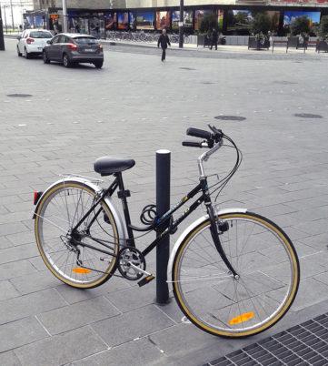 Samedi 7 mars 2015 : opération «diagnostic antivol vélo» sur la ville de Tours