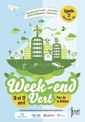 18 et 19 avril 2015 : Week-end Vert à Joué-lès-Tours