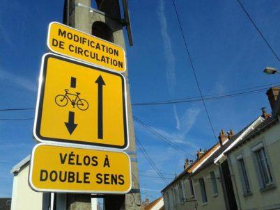 Non, les double-sens cyclables ne sont pas dangereux