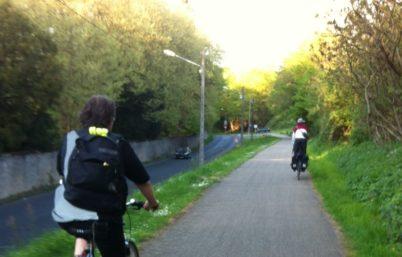 Propositions de trajets vélo entre Tours et Joué et accompagnement