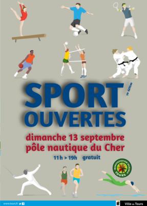 Sport'ouvertes, Tours (dimanche 13 septembre 2015)