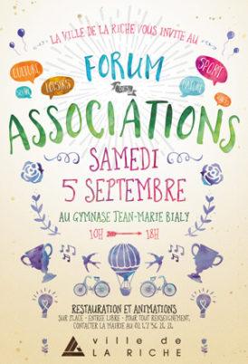Forum des associations, La Riche (samedi 5 septembre 2015)
