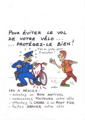 Campagne Tour(s)plus / CC37 de lutte contre le vol de vélos