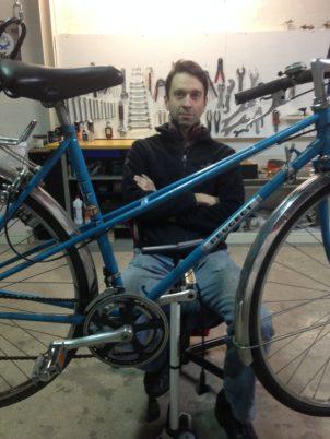 Portrait des deux salariés du Collectif Cycliste 37