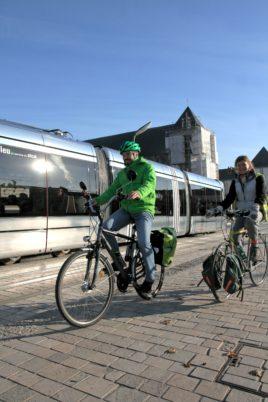 Les vélos autorisés dans le tram à toute heure