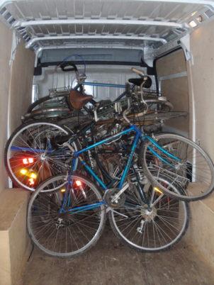 Semaine de collecte des vélos inutilisés à Amboise, Château-Renault et Loches