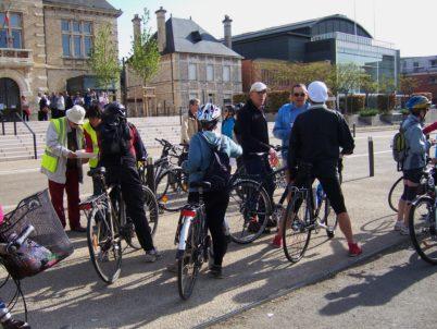 Dimanche 24 avril 2016 : vélo-conférence « Évocation de résistants tourangeaux, notamment corpopétrussiens »