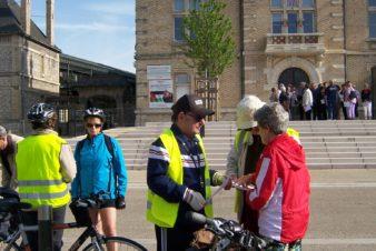 Balade à vélo organisée par le CC37 à Saint-Pierre-des-Corps le 10 mai 2015. @Sonia Leroy/CC37