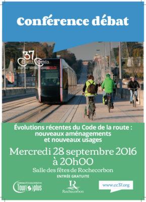 Mercredi 28 septembre 2016 à 20h00 : «Les évolutions récentes du Code de la route»