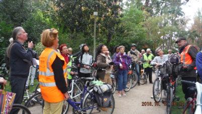 « Histoires d'arbres » : une vélo-conférence réussie