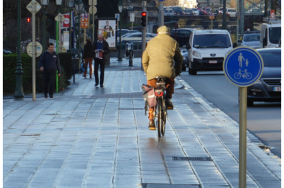 Une étude du Cerema sur «Les trottoirs partagés piétons-cyclistes à l'étranger»
