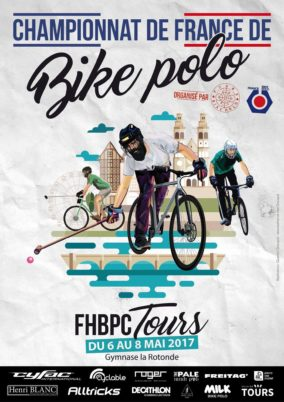 Bike polo : le championnat de France 2017 à Tours !