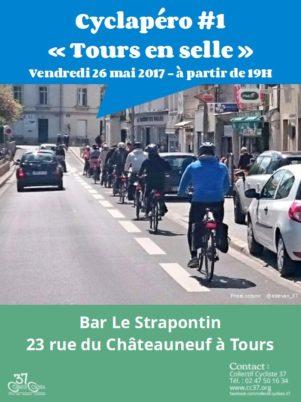 Cyclapéro «Tours en selle»