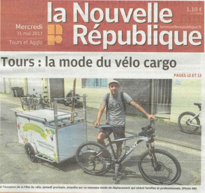 Un vélo-cargo en plus, c'est une voiture en moins!