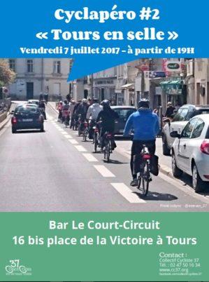 Cyclapéro #2 «Tours en selle»