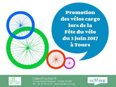 Succès des vélos cargo lors de la Fête du vélo 2017