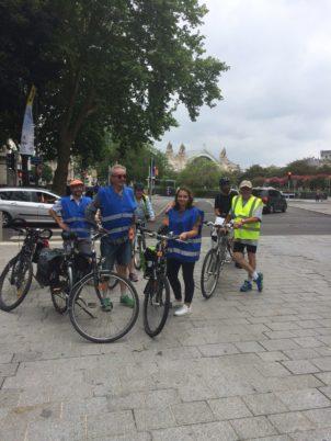 Balades estivales à vélo Tours Métropole – Collectif Cycliste 37 : une première réussie !