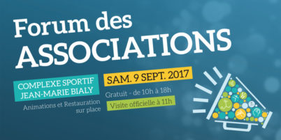 Samedi 9 septembre 2017, La Riche : forum des associations