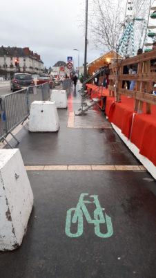 Les fêtes de Noël à Tours : une vraie régression pour les cyclistes et les piétons ?