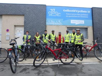 «Coaching vélo» pour les migrants du centre d'accueil de Saint-Pierre-des-Corps