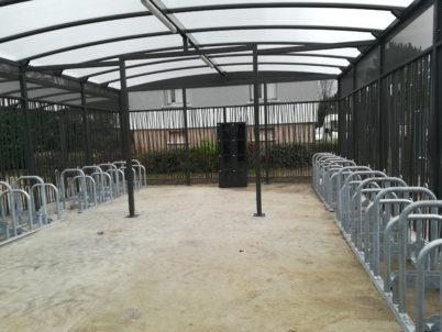 Nouveau parking vélo sécurisé à Saint-Pierre-des-Corps