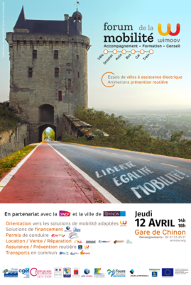Jeudi 12 avril 2018 : Forum de la mobilité à Chinon