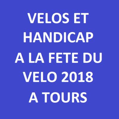Des vélos adaptés en présentation à la Fête du Vélo 2018