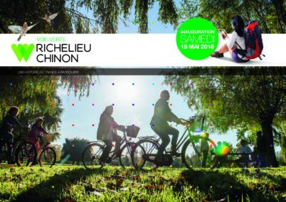 La nouvelle voie verte Richelieu-Chinon