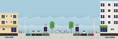 Tours : le futur profil du boulevard Béranger ?