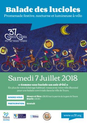 Balade des Lucioles : samedi 7 juillet 2018
