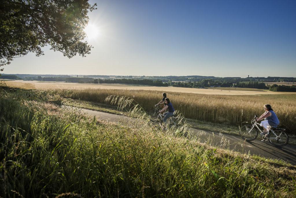 Balade en famille à vélo. @David-Darrault