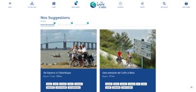 Un nouveau site web pour la Loire à vélo !