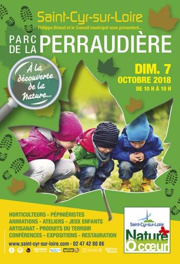 Affiche officielle de l'édition 2018 de Nature Ô Coeur. @Saint-Cyr-sur-Loire.