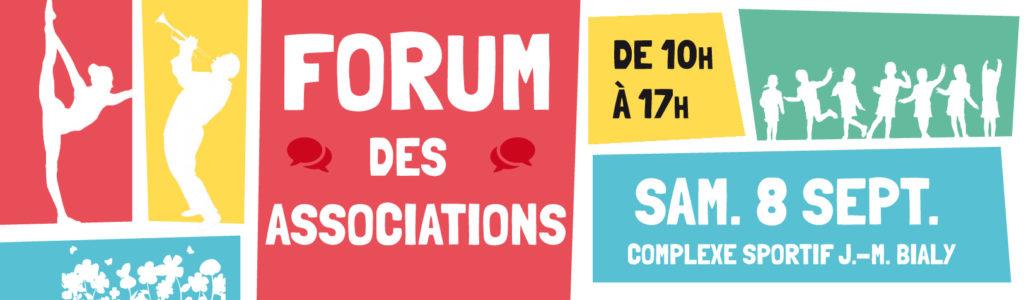 Visuel du Forum des associations 2018, La Riche.