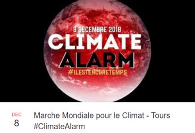 Annulation du village associatif pour le Climat : samedi 8 décembre 2018