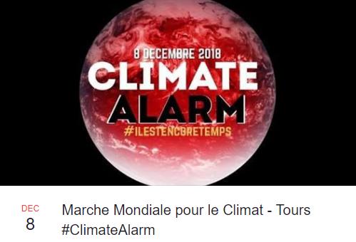 Marche mondiale pour le climat 8 décembre 2018