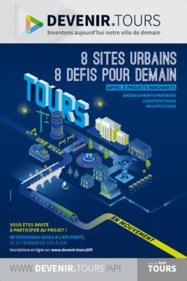 La Ville de Tours lance un appel à projets urbains innovants