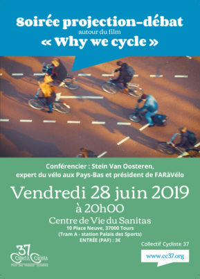 Vendredi 28 juin 2019 : projection-débat autour du film Why we cycle